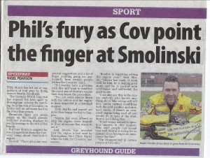 Birmingham Mail article  5.4.13